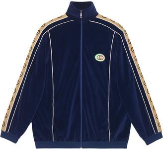 Gucci Oversize chenille jacket
