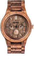 WeWood Kappa Nut Brushed Wood Watch - Walnut