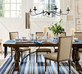 Pottery Barn Lorraine Extending Dining Table