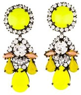 Shourouk Neon Embellished Earrings
