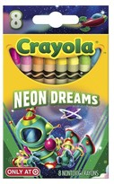 Crayola Pick Your Pack Crayons, 8ct - Neon Dreams