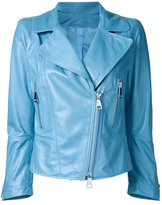 Sylvie Schimmel zip up jacket - women - Nappa Leather - 40