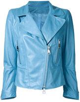Sylvie Schimmel zip up jacket - women - Nappa Leather - 40