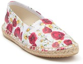 Dolce & Gabbana Floral Espadrille Leather Flat (Toddler, Little Kid, & Big Kid)