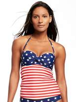 Old Navy Twist-Front Bandeau Tankini Top for Women