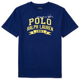 Ralph Lauren Boys 8-20 Boys Cotton Printed Crewneck Tee