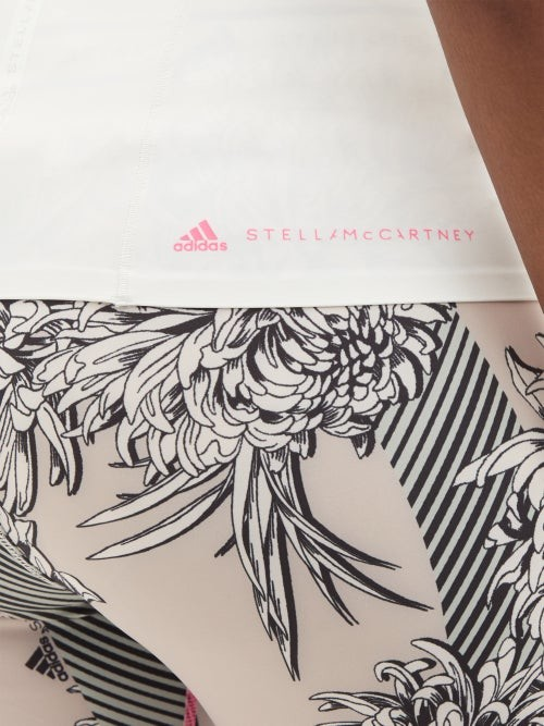 Thumbnail for your product : adidas by Stella McCartney Truepurpose Recycled Fibre-blend Tank Top - White