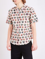 Burberry Pallas Heads relaxed-fit cotton-poplin shirt