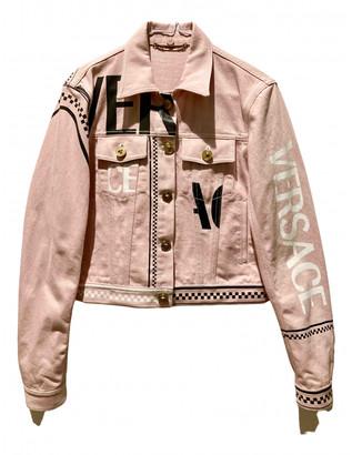 Versace Pink Denim - Jeans Jackets