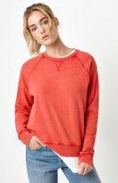 La Hearts Dorito Vintage Crew Neck Sweatshirt