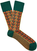 Prada Geometric cotton socks