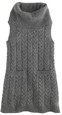 J.Crew Girls' sleeveless cable-knit dress