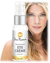 Rejuvenating Eye Crème, Creating a Youthful Glow, with Anti-Aging Organic + Natural Ingredients, MSM, Vit. C + Tri-Peptides that Fight Free-Radicals! Skin Nation by Michelle Stafford