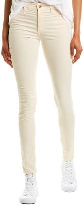 AG Jeans Farrah Ivory Skinny Ankle
