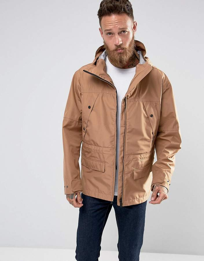 Hunter Hooded Parka in Sand