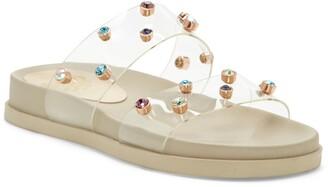 Vince Camuto Partha Platform Slide Sandal