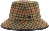 Gucci Check Wool Bucket Hat