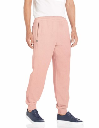 Lacoste Mens French Terry Cuffed Bottom Track Pant Pants