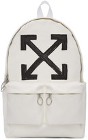 Off-White Brushed Backpack