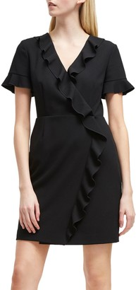 French Connection Stretch Frill Dress