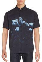 Ezekiel Floral Cotton Shirt