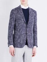 Canali Kei-fit woven jacket