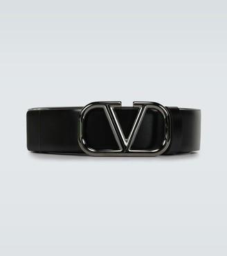Valentino VLOGO leather belt