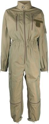 Maison Margiela Zipped Long-Sleeve Jumpsuit