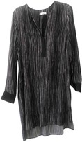 Vince Anthracite Silk Dress for Women