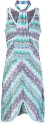 Missoni Pre Owned Abstract Print Scarf Dress