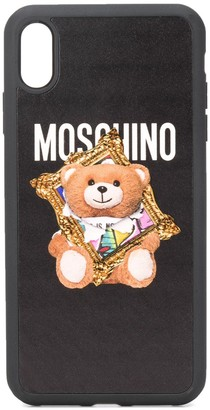 Moschino Teddy Bear iPhone XS Max case