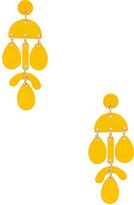 Shashi Ana Earring in Yellow.