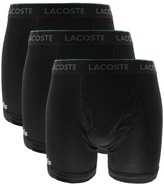 Lacoste Underwear Triple Pack Boxer Briefs Black