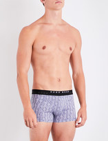 BOSS Pack of two regular-fit stretch-cotton boxer trunks