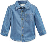 First Impressions Denim Button-Up Shirt, Baby Boys (0-24 months), Only at Macy's