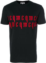 McQ by Alexander McQueen embroidered T-shirt