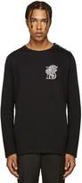 Balmain Black Embroidered 'B' T-Shirt