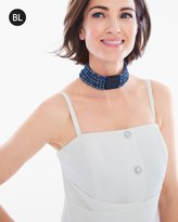Chico's Button Bustier