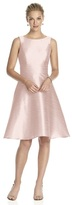 Alfred Sung D681 Bridesmaid Dress in Pearl Pink