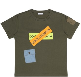 Dolce & Gabbana Kids Cotton jersey T-shirt
