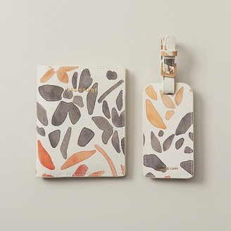 Love & Lore Love And Lore Passport & Luggage Tag Gift Set Malta Floral