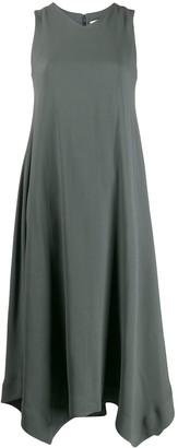 Fabiana Filippi v-neck asymmetric dress