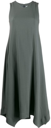 Fabiana Filippi V-Neck Asymmetric Dress