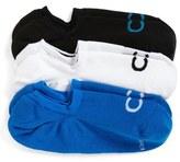 Calvin Klein No-Show Socks (3-Pack) (Men)