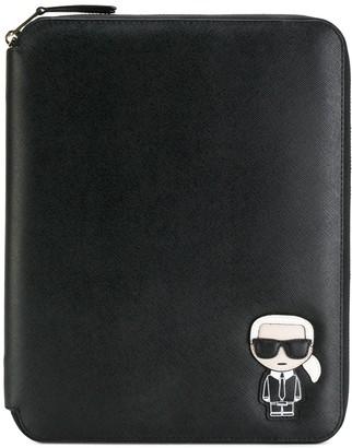 Karl Lagerfeld Paris Ikonik iPad organizer