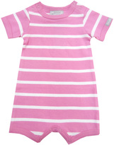 Coccoli Stripe Cotton Snap One Piece