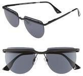 Le Specs Women's Mafia Moderne 52Mm Rimless Sunglasses - Brushed Gold