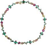 NIKOS KOULIS Eden Mixed Gemstone Necklace