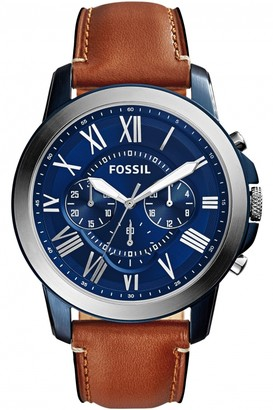 Fossil Mens Grant Chronograph Watch FS5151