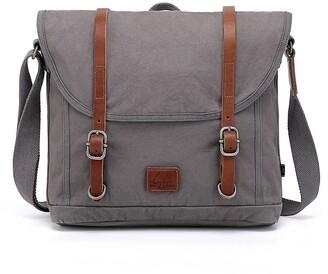 Tsd Forest Canvas Messenger Bag